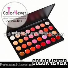 32 Different Colors makeup cosmetics Lip Gloss/permanent lip gloss lip gloss with light and mirror