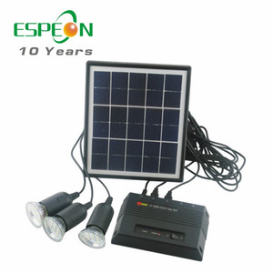 Small solar power system kit for home ,camping using solar panel system