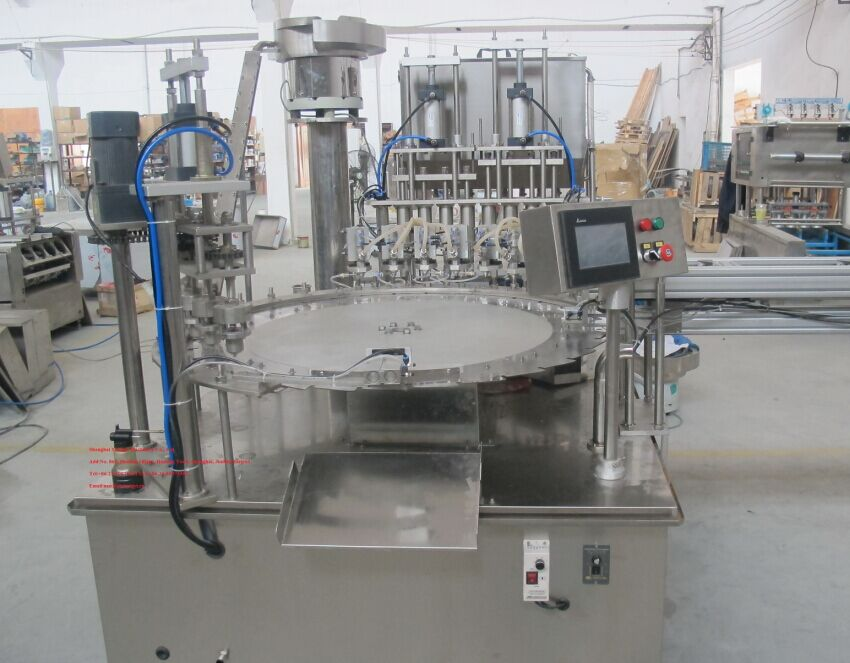 stand up  pouch filling capping machine