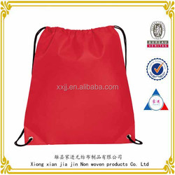 2014 hot sale Non Woven Polypropylene Promotional Drawstring Bag