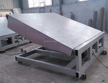 hydraulic immobile container ramp immobile container ramp
