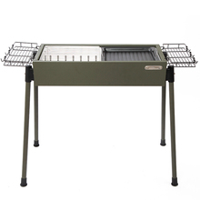 Folding Large Charcoal Bbq Kamado Barbecue Grill