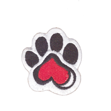 cheap lovely sole chinese custom patch on clothing embroidery patch kids badge wholesale