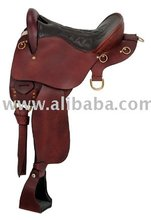 high quality genuine leather cow seat endurance horse Saddle