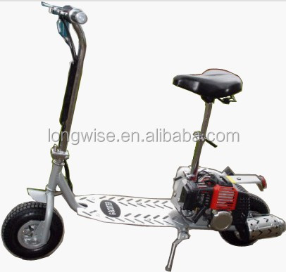 49cc ,2 Stroke gasoline scooter/ 2 wheels Gas scooter