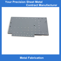 CNC precision sheet metal punching and stamping fabrication