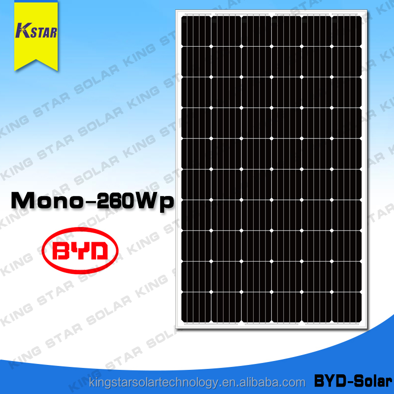 Good price poly crystalline photovoltaic cell solar panels 240 watt With Long-term Service