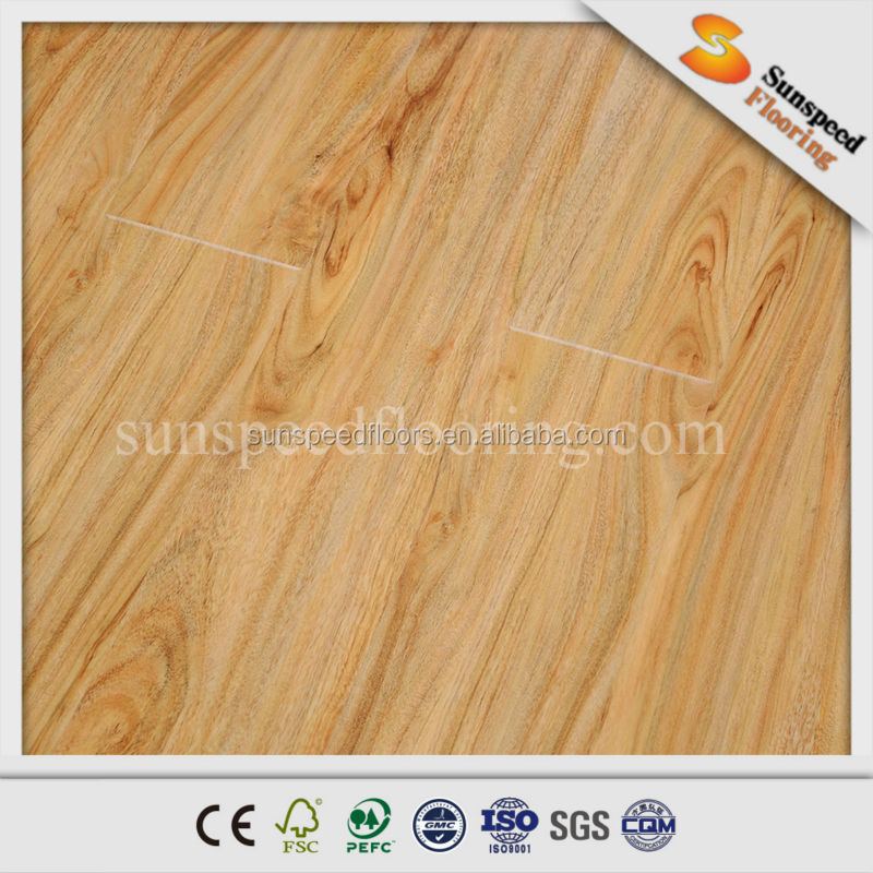 Waterproof industrial laminate floor, China laminate flooring