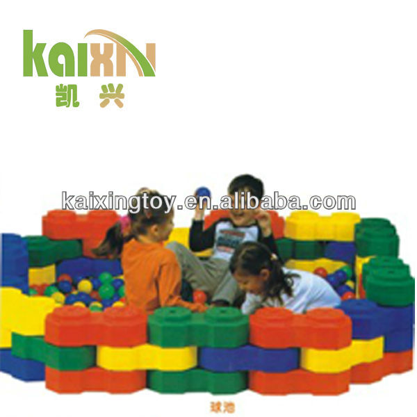 2015 High Density Kids Plastic Big Building Block Toy