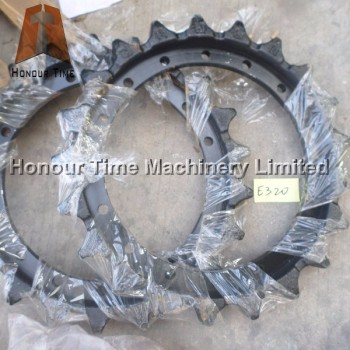8E9805 E320B Excavator Chain sprocket for excavator sprocket rim