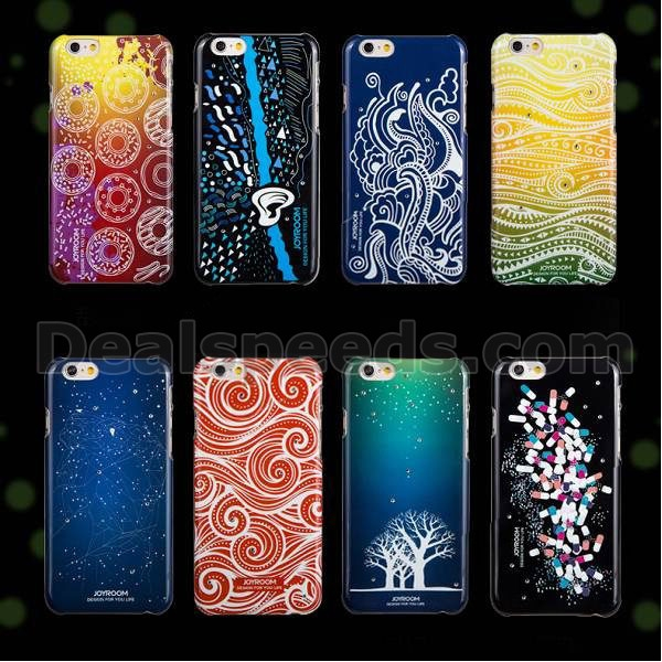 Joyroom Noctilucent Design Hard PC Luminous Case for iPhone 6 4.7 inch