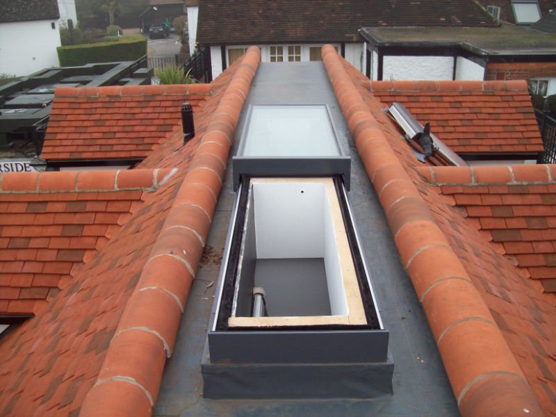 GV Sliding Over Roof Rooflight