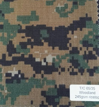 High Quality Military Camouflage canvas disperse dyes twill fabric for military uniform
