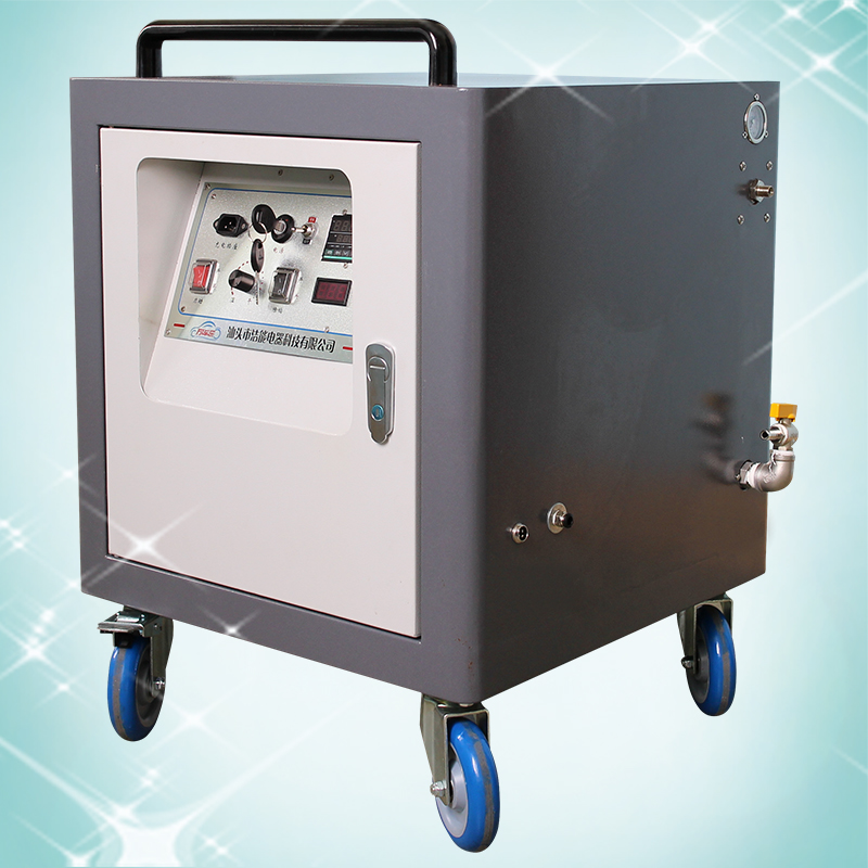 Single gun steam carwash machine with detergent &wax system