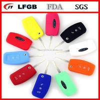 Silicone key fob cover remote & silicone car key case