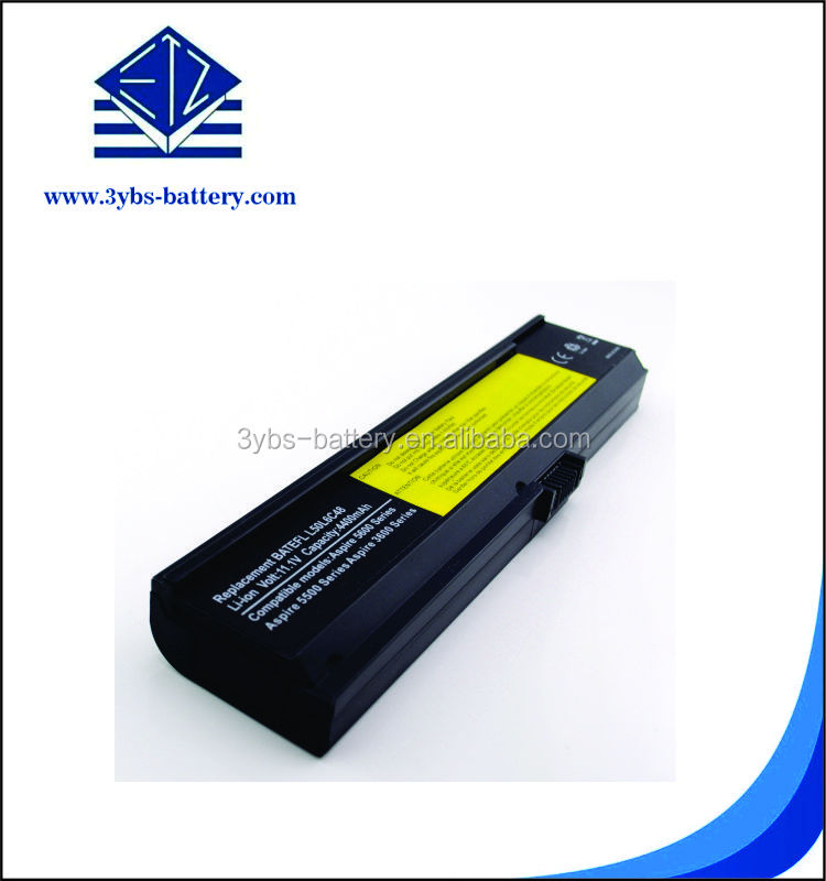 1 year warranty 11.1 V 4400mAh 49wh high quality laptop battery notebook battery compatible with Acer Aspire 3600