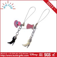 Lovers phone line mobile phone leather mobile phone strap