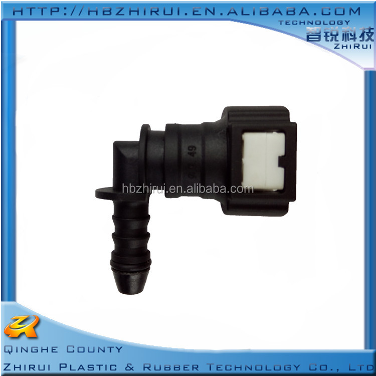 Auto fuel quick release connector female of 9.49-ID6 elbow coupling