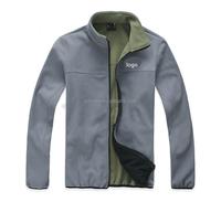 Men's jackets double faces polar fleece winter jacket