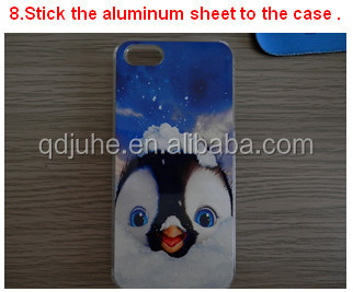 High quality 2D blank sublimation cell phone cover for iphone 6