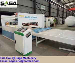 HF High Frequency Wood Edge Gluer Edge Gluing Press Machine Timber Board Clamp Carrier