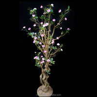 WEFOUND fake peach table tree decoration artificial plastic the branch centerpiece