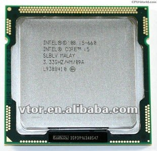 Cheap Hot Sale Intel Core i5-660 Intel Core i5 Used Bulk cpu