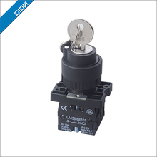 key operated reset pushbutton switch 3 position