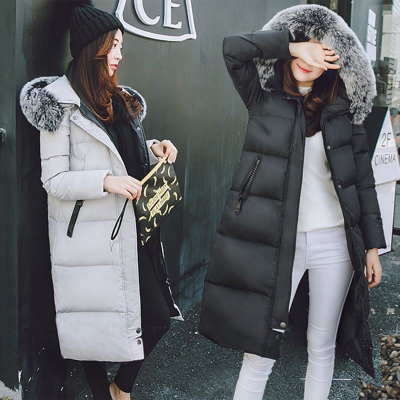 Onenweb <strong>w</strong> 2016 new winter large fo fur coat winter women jacket female fashion coat
