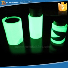 Custom Vinyl Luminous Sticker Label Materials,Yellow Green 6-8 hours Long Glowing Time,Glow In The Dark Paper Luminescent Tape