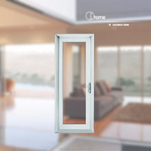 Shanghai Echome aluminum frame double glass interior apartment door design photo