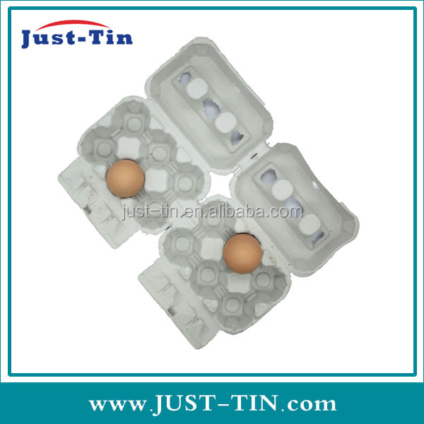 K-wholesale grey printed chicken custom egg cartons