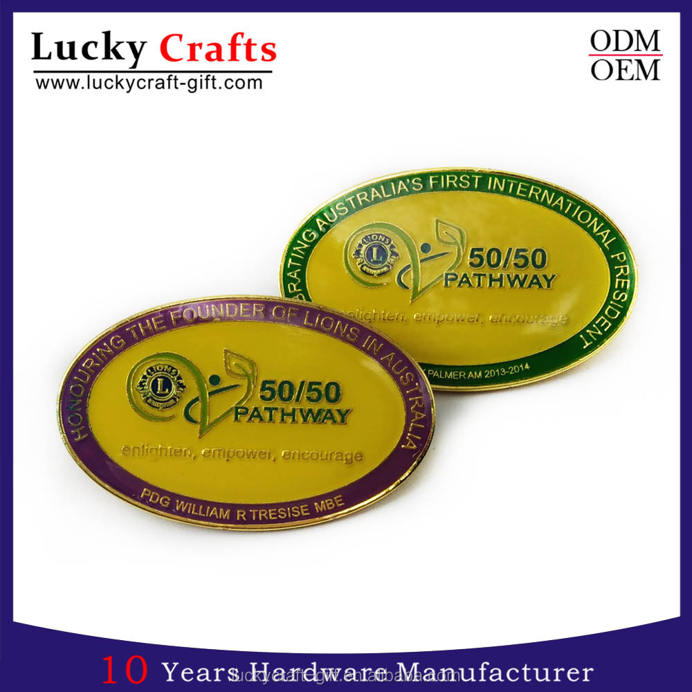 Custom made epoxy car logo metal badges suppliers