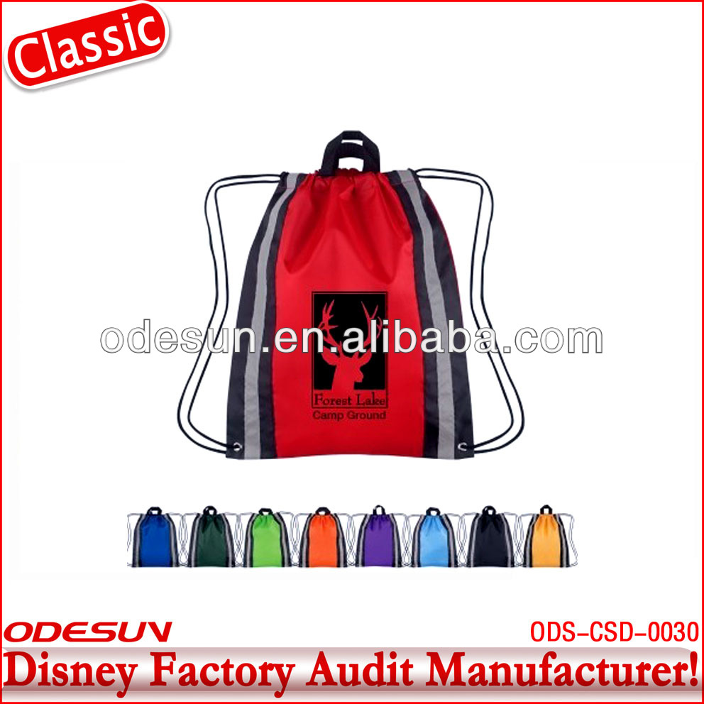 Disney factory audit manufacturer's drawstring bag 142057r