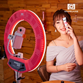 New products 2018 innovative produt NanGuang makeup Venus V48C dslr camera phone selfie ring light for beauty