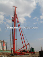 CFG Series Long Auger Drill Machine with power head for ground hole drilling depth 25-40M