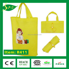 2016 New style custom non woven fabric shopping gift hand bag