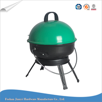 Outdoor Colorful Charcoal Helmet bbq Grill