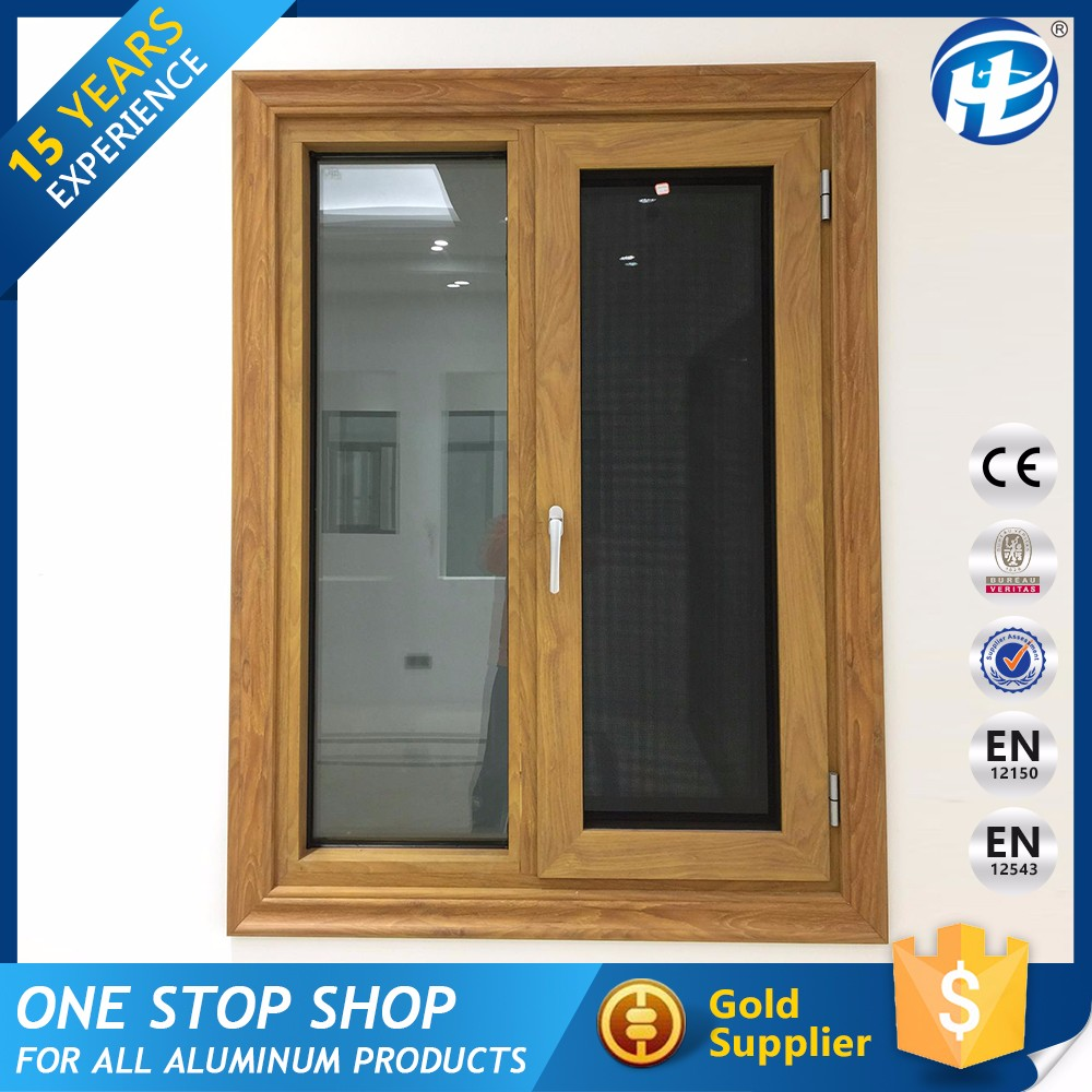 Alibaba International Casement Window With Blinds