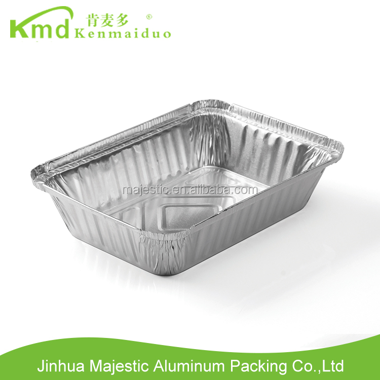 China Supplier Deep house container disposable aluminium foil bowls