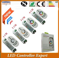 Hot selling 2.4G RF Touch RGB LED Controller from JMECH 8 years manufacturer