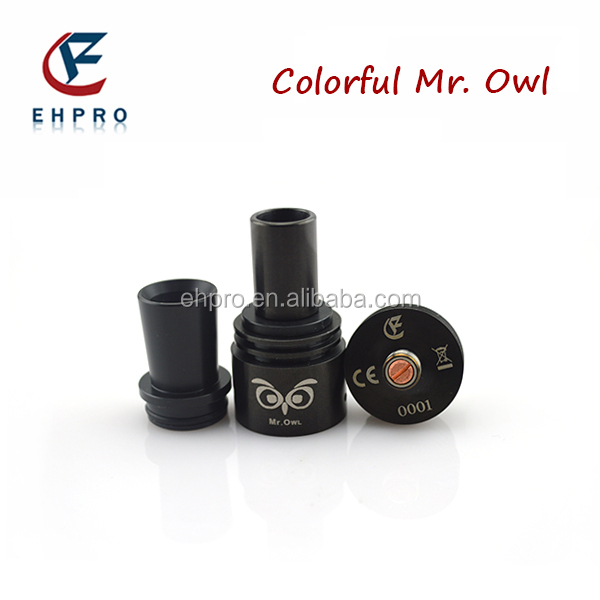 2014 New Authentic best china ecig supplier ehpro original rebuildable Mr. Owl rda atomizer