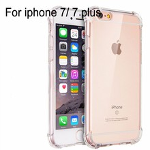 360 degree <strong>protective</strong> Clear Cover Shockproof Tpu Case for iphone 7