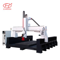 Multi Function 4Axis Heavy Duty Woodworking CNC Router Machine Center