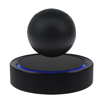 Levitating round bluetooth wireless speaker