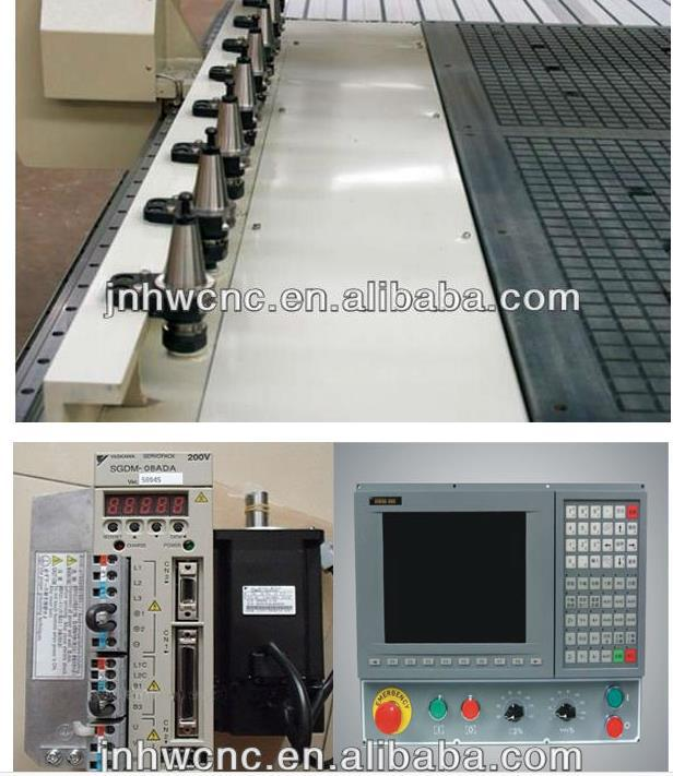 Taiwai syntec with automatic tool atc cnc router