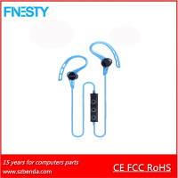 2016 new hot selling portable ear hook bluetooth earphone headphone