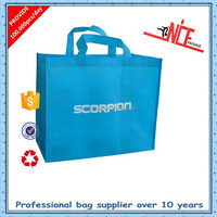 recycle non woven promotion compact reusable shopping bag