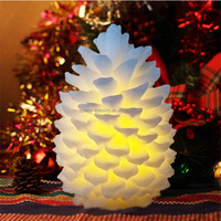 Led Wax Candle Light Christmas Decorative Taper Candles Led Window Candle Lights