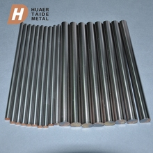 Trade assurance supplier best price grinding edm electrode copper tungsten rod